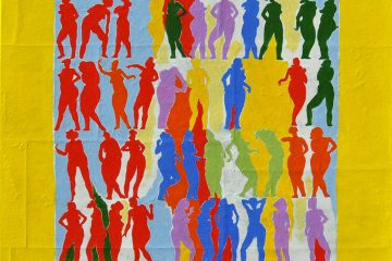Peinture de femmes par l'artiste Carol Bathellier